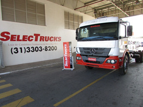 Atego 2426 2013/2013 Chassi = Ford Cargo = Vm260 = Vw 24-260