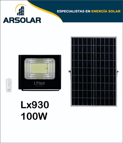 Reflectores Led Solares 100w