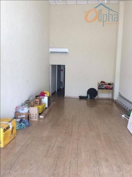 Salão Para Alugar, 60 M² Por R$ 2.500/mês - Vila Thais - Atibaia/sp - Sl0005