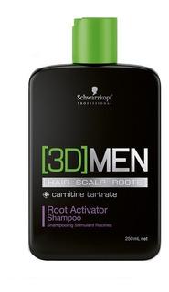 3d Men Activating Shampoo 250 Ml Schwarzkopf