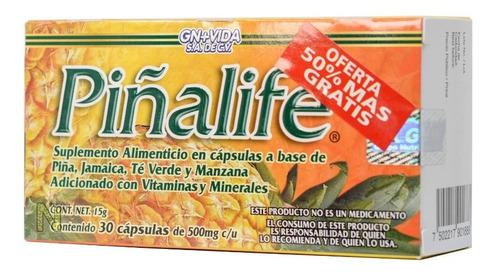 Piñalife (30 Cápsulas) Gn+vida