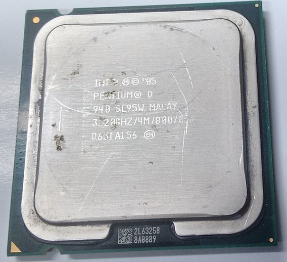 Processador Intel Pentium D 940 3,20ghz 800 4mb
