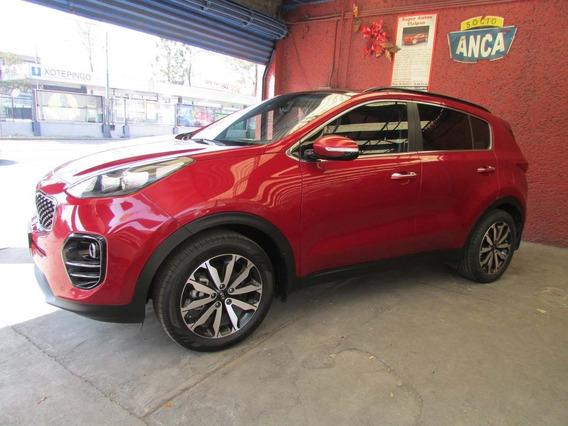 Kia Sportage Ex Pack 2017 Rojo