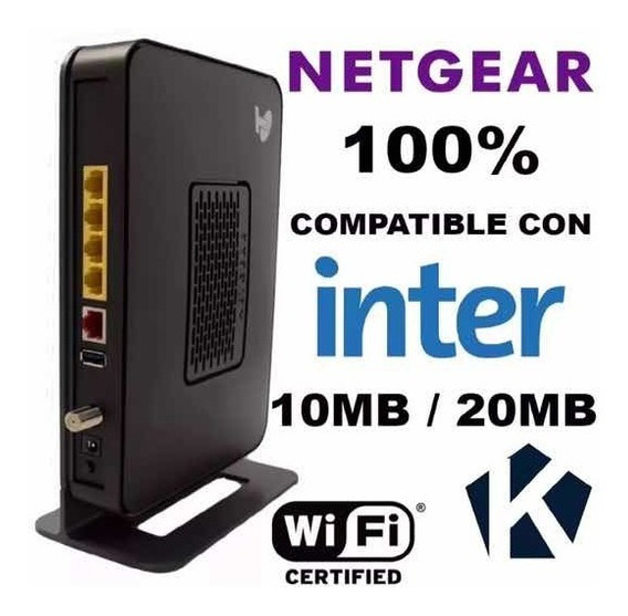 Modem Intercable Netgear Cg3000d
