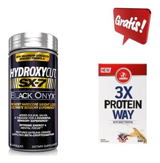 Promoção Hydroxycut Sx-7 Black Muscletech 80 Cáps Lipo6 Oxye