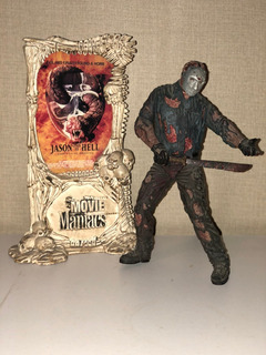 Jason Voorhees Movie Maniacs Friday 13th Mcfarlane Unico