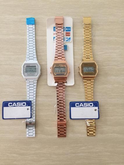 Reloj Casio A168 Vintage Retro Precio Mayoreo