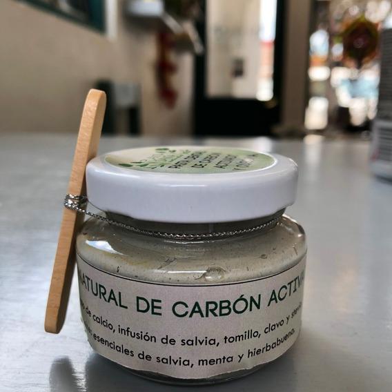 Pasta Dental Orgánica - Carbón Activado Y Cúrcuma