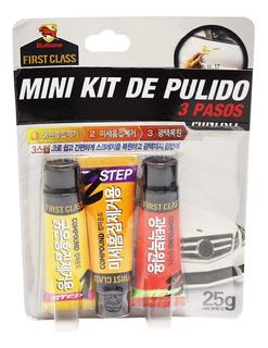 Pulimento De 3 Pasos First Class Mini Kit 25g*3 12 Und