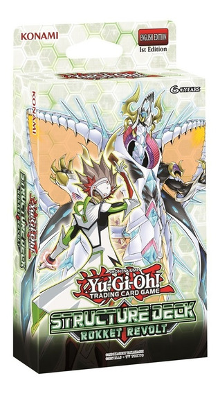 Yu-gi-oh! Card Game - Deck Estrutural - Rokket Revolt