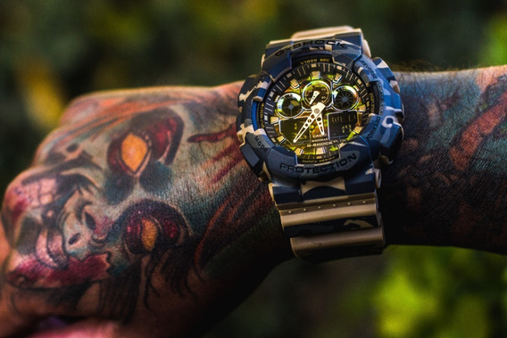 Relógio G-shock Ga 100