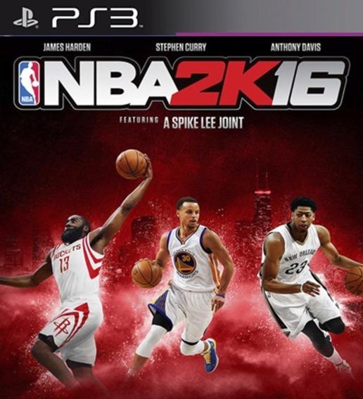 Nba 2k16 Ps3 Psn Digital Game