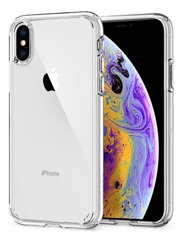 Funda Spigen iPhone XS X 10 Ultra Hybrid Cristal