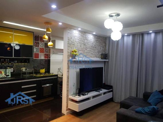 Condomínio Flex 4 Apartamento Com 2 Dormitórios À Venda, 45 M² Por R$ 195.000 - Vila Da Oportunidade - Carapicuíba/sp - Ap2706