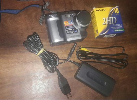 Câmera Digital Mavica Sony Mvc-fd90 (para Colecionador)