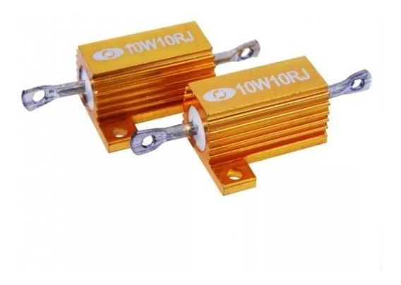 Resistor 10r 10w Para Led 12v Autopoli Ap216