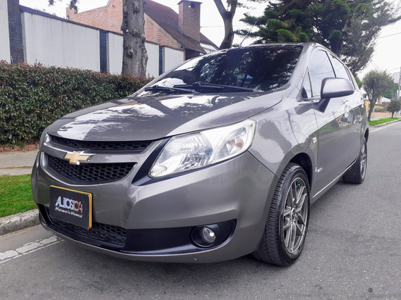 Chevrolet Sail Ltz H/b Mecanico Techo Electrico 2014