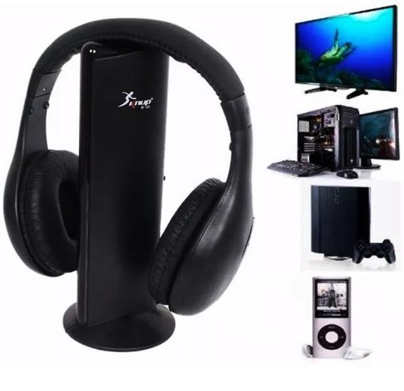 Headset Wireless Fone De Ouvido S/ Fio 5em1 Tv Xbox Ps2/3/4