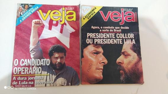 Lote Com 19 Edição Da Revista Veja Anos 80