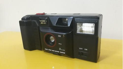Câmera Fotográfica Antiga Yashica Md35 Analógica