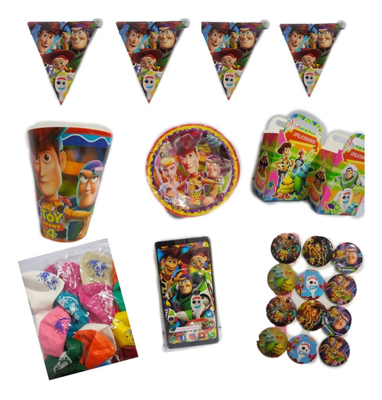 Toy Story Paquet Fiesta Tematico Articulos Set Kit