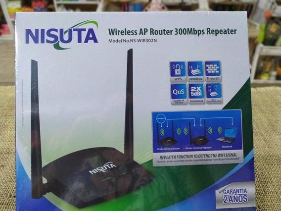 Router Repetidor Nisuta Doble Antena