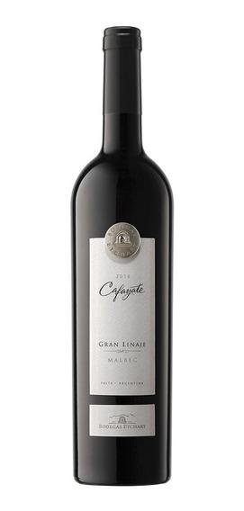 Vino Tinto Cafayate Gran Linaje Malbec Botella De 750 Ml