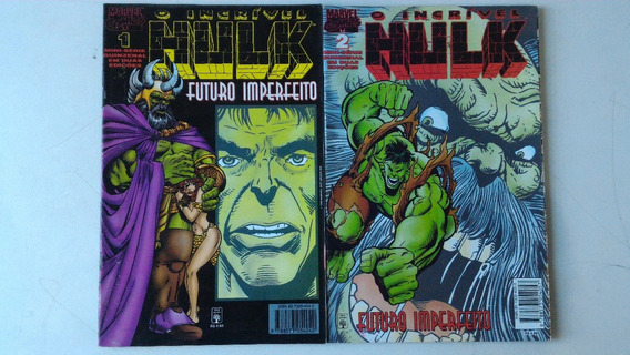 Raríssimo Hulk Futuro Imperfeito Marvel Gibi Hq Quadrinhos