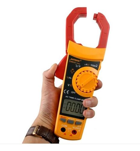 Pinza Amperimétrica Auto/manual Con Multímetro Integrado