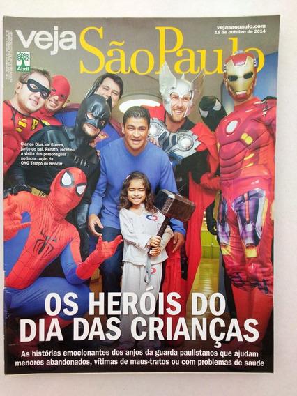 Veja S P / Heróis Das Crianças / Maquiador Rosman Braz /