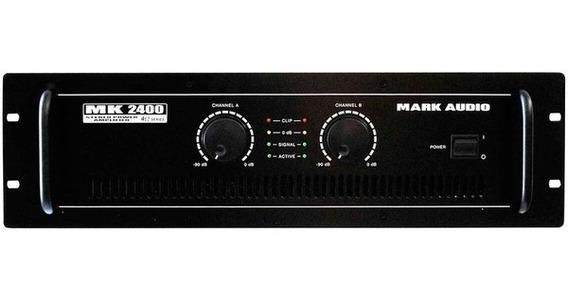 Potência Mark Audio Mk 2400