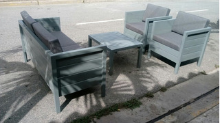 Comedores Para Terrazas Exterior - Hogar y Muebles en Mercado Libre ...