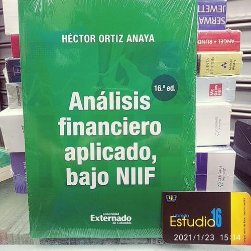 Analisis  Financiero Aplicado Bajo Niif