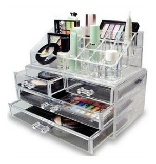 Organizador Acrilico Para Cosmeticos Maquillaje Oferta