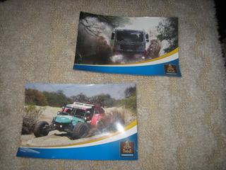 Dakar Argentina Lote 2 Postales Autos Camion Arenero Carrera