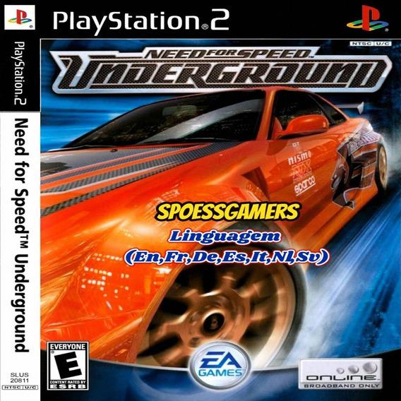 Need For Speed Underground - Ps2 Desbloqueado Patch