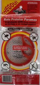 Ralo Tela Protetor Barata Escorpião Dengue Tela 100 Mm 01 Pç