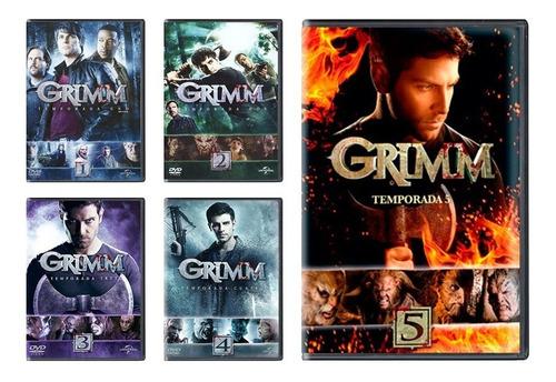 Grimm Paquete Temporadas 1 2 3 4 5 Dvd