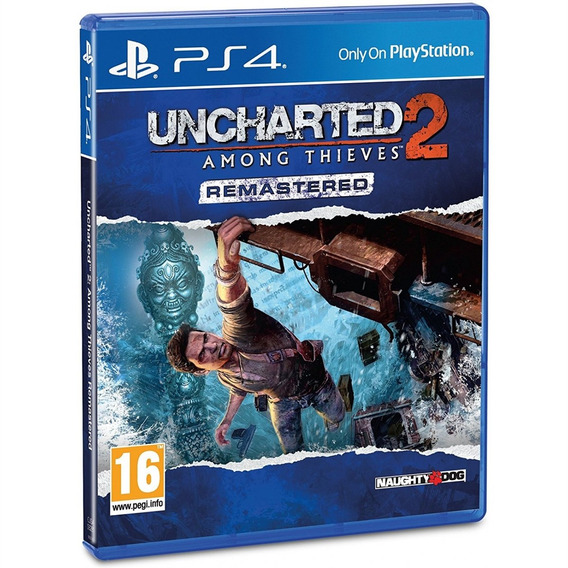 Uncharted 2 Among Thieves Remastered Ps4 Mídia Física Novo