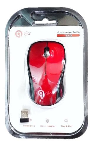 Mouse Inalambrico Gio  Pc Laptop Optico
