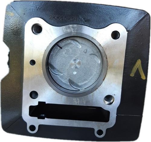 Imagen 1 de 7 de Cilindro Y Piston Apache Rtr 160 4 Valvulas Original Nuevo