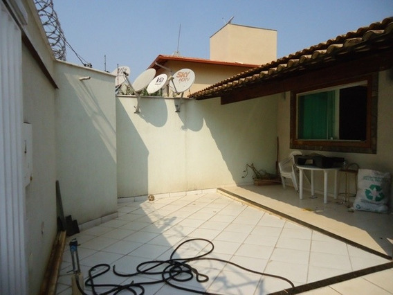 Casa Geminada Com 3 Quartos Para Comprar No Cabral Em Contagem/mg - 12090