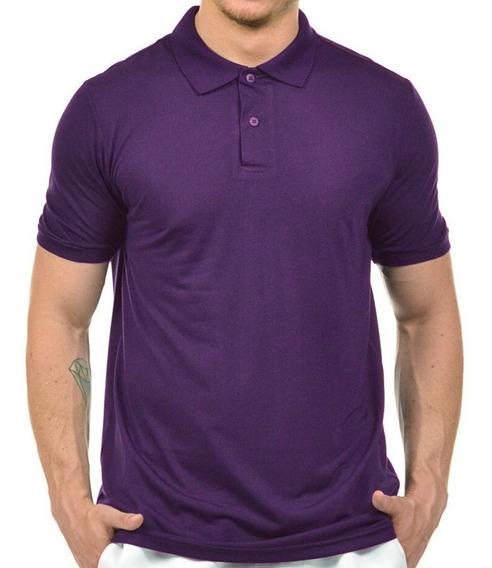 Polo Masculina Camisa Uniforme Camiseta Gola Atacado Bordar