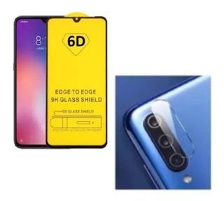 Película 3d 6d Vidro + Pel Camera Vidro Para Xiaomi Mi 9 Mi9
