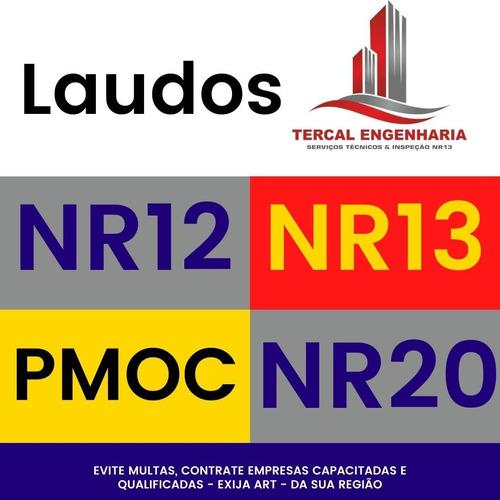 Laudo Técnico Nr13, Nr12, Nr20, Elaboração Pmoc, Todo Brasil