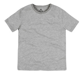Camiseta Básica Infantil Menino Cores Variadas Hering Kids