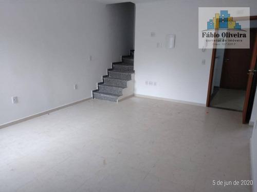 Imagem 1 de 30 de Cobertura Com 2 Dormitórios À Venda, 52 M² Por R$ 280.000,00 - Vila Guarará - Santo André/sp - Co0088