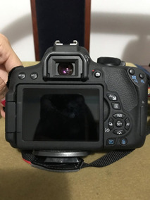 Câmera Cânon T6i Com Lente 18-55mm Is Stm Eos Rebel