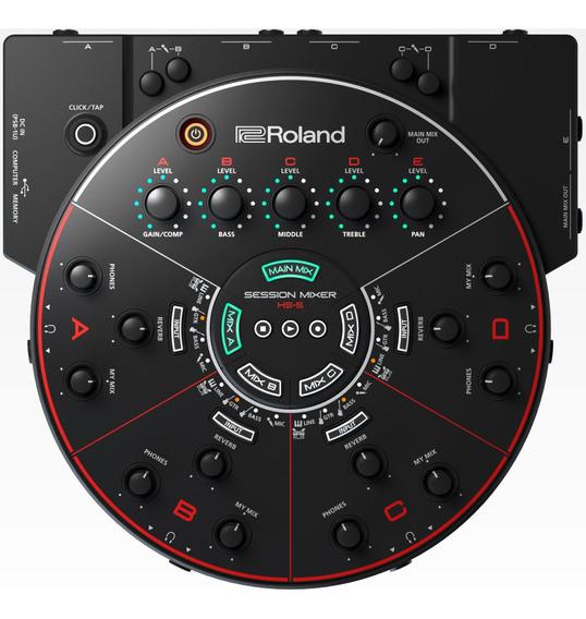 Hs 5 Session Mixer Hs-5 Mixer De Ensaios Gravação De Grupos