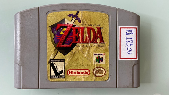 Cartucho Zelda Ocarina Of Time - Nintendo 64